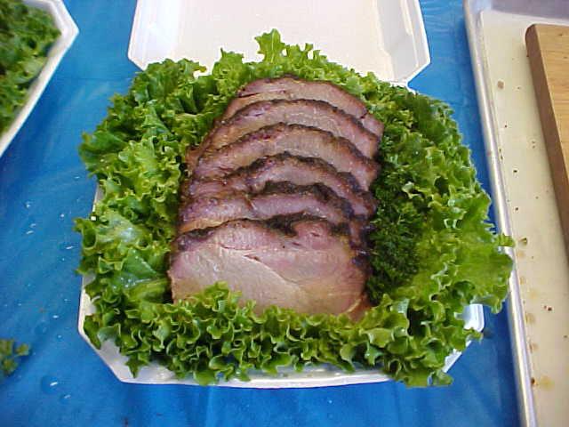 Sliced BBQ Pork Butt