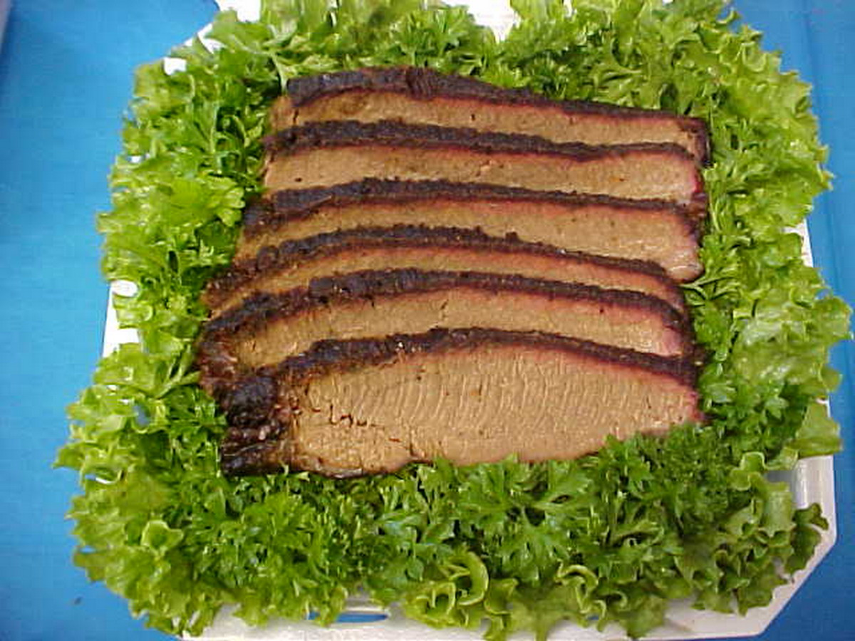 Sliced BBQ Brisket